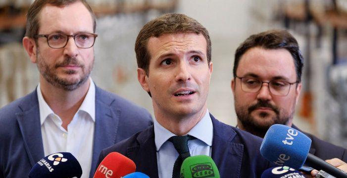 La Fiscalía se opone a abrir causa a Casado por el máster en la Rey Juan Carlos