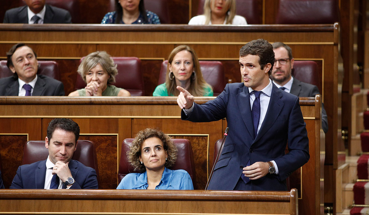 Pablo Casado (PP). | EUROPA PRESS