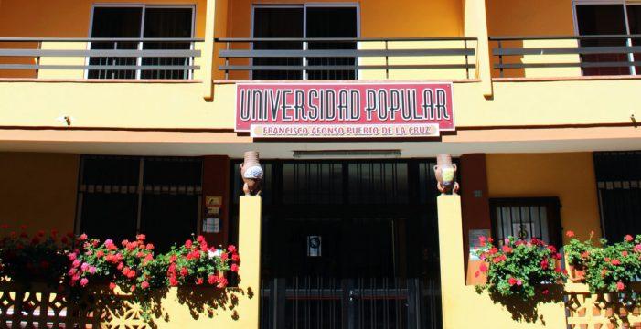 La Universidad Popular descentraliza su formación para llegar a los barrios