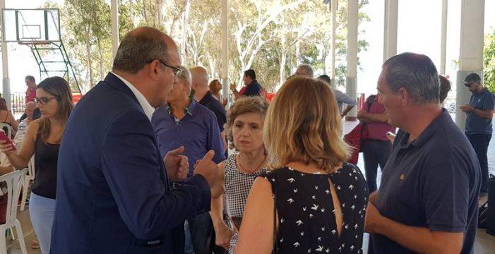 Pestana está convencido de que el PSOE será alternativa de gobierno en Los Llanos