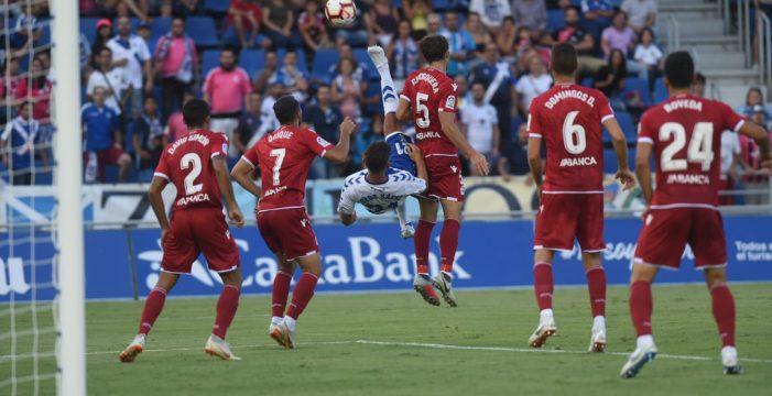 El Tenerife iguala 'in extremis' en el Heliodoro con el Deportivo de La Coruña (2-2)