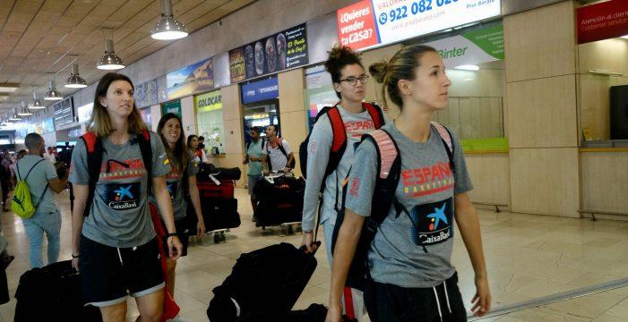 La Selección Española de Baloncesto femenino ya está en Tenerife
