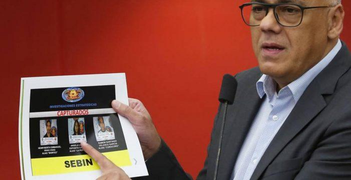 Tres detenidos, incluido el 'cerebro' del intento de asesinato de Maduro