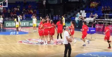 España calienta motores antes de enfrentarse a Australia en el Mundial de Baloncesto