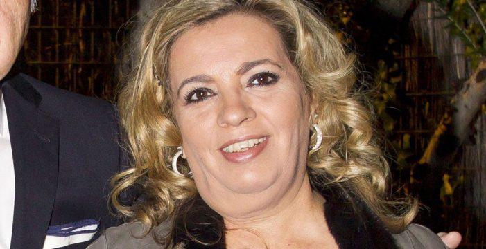 Primeras imágenes de Carmen Borrego tras su operación de papada