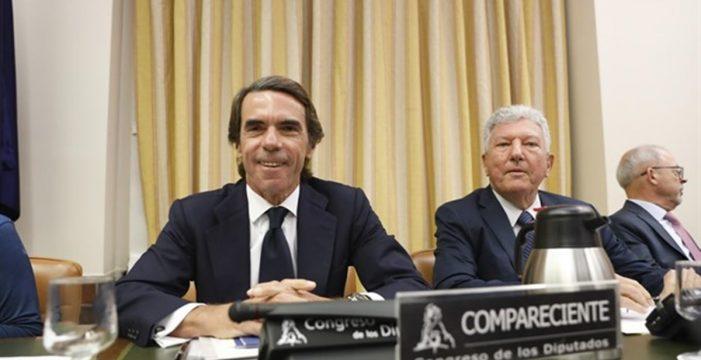 """Duro combate dialéctico de Aznar en el Congreso: """"No tengo que pedir perdón"""""""