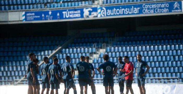 Así ha sido el segundo entrenamiento de Oltra al frente del CD Tenerife