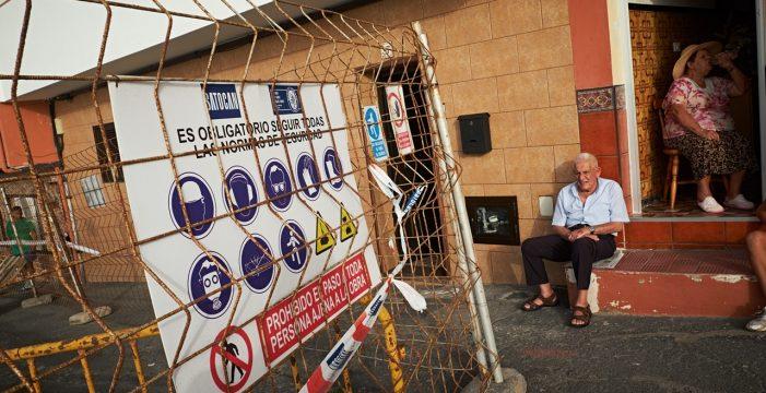 El miedo a los derrumbes vuelve a Punta Brava