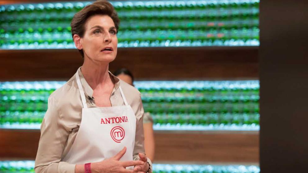 Antonia Dell'atte, en el concurso televisivo. / RTVE