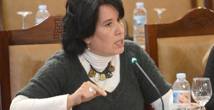 Mayca Coello exige que entre la nueva RPT en el presupuesto de Candelaria