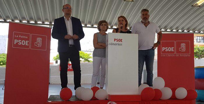 Alicia Vanoostende da un paso adelante y lidera la candidatura del PSOE en Los Llanos