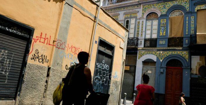 Mas del 40% de los edificios del Antiguo Santa Cruz están abandonados o sin uso