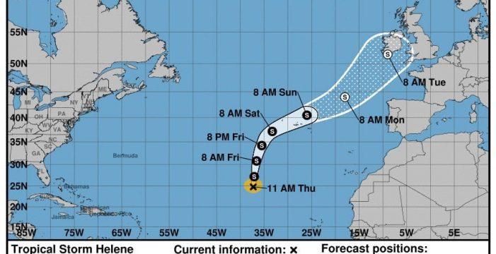 Florence ya golpea EE.UU. y las Azores esperan que llegue Helene