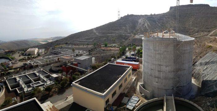 La depuradora Adeje-Arona destinará 40.000 metros cúbicos diarios a regadíos