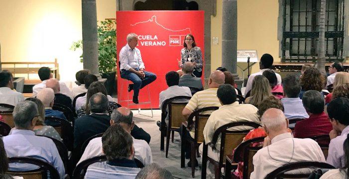 CC se sirve de una escuela de verano para intentar dar lecciones al PSOE