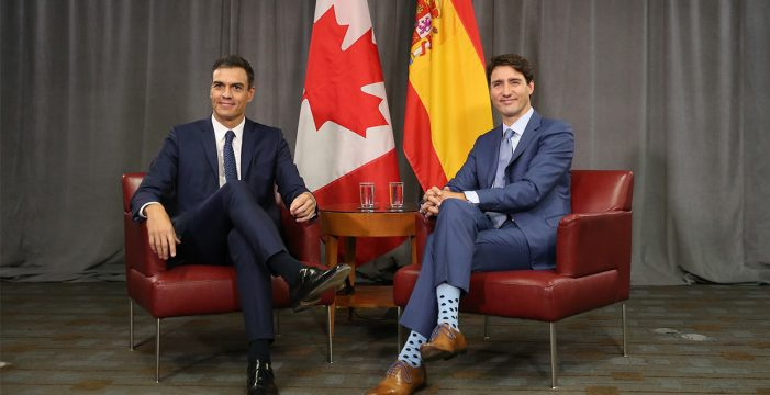 Sánchez pone a Quebec como ejemplo para Cataluña