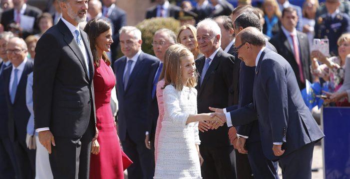 La princesa Leonor debuta oficialmente como heredera de la Corona