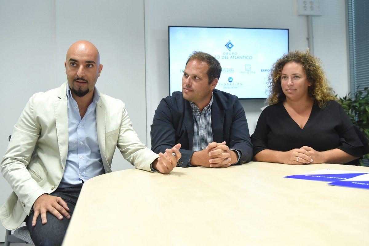 EL Equipo Kidslife: Jesús Pérez, Israel García y Sarah García. | Sergio Méndez