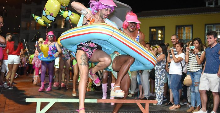 Ni Mascarita salva un frío Carnaval de Verano