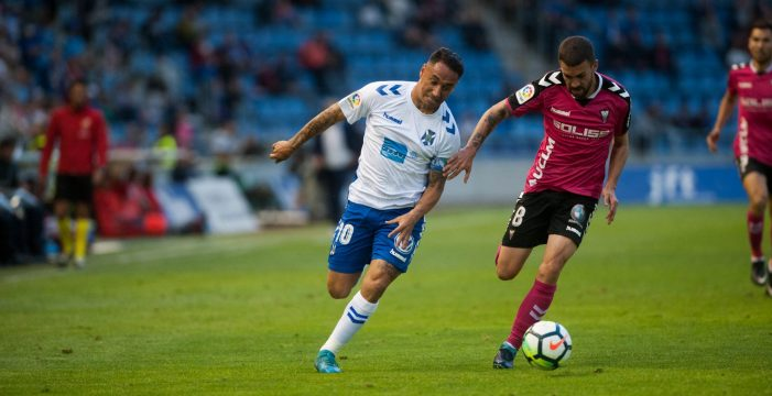 Suso se hace eterno en el CD Tenerife