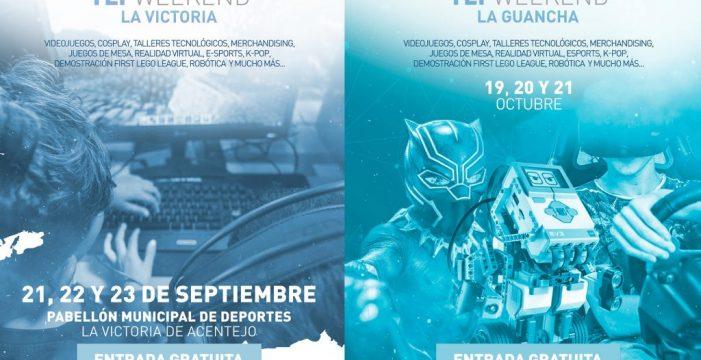La formación tecnológica llega a La Victoria y La Guancha con las TLP Weekend
