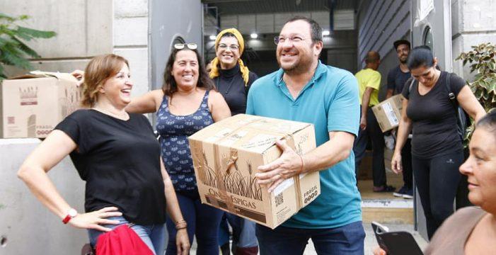 Gente Solidaria de Candelaria llena su sexto contenedor para Senegal y Gambia
