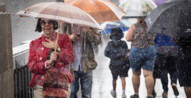 El Gobierno canario declara la situación de prealerta en Tenerife, La Palma, La Gomera y El Hierro por lluvias fuertes