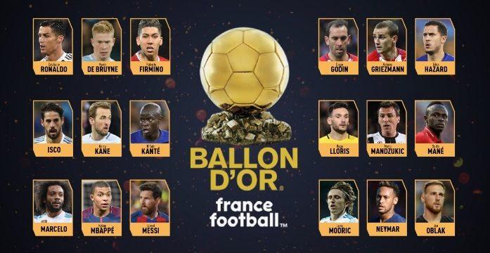 Ramos e Isco, únicos españoles candidatos al Balón de Oro