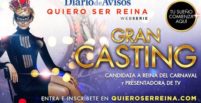 Gran Casting de DIARIO DE AVISOS para Reina del Carnaval y presentadora de TV