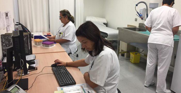 El Hospital del Norte cuenta ya con servicio de extracciones de sangre para analíticas