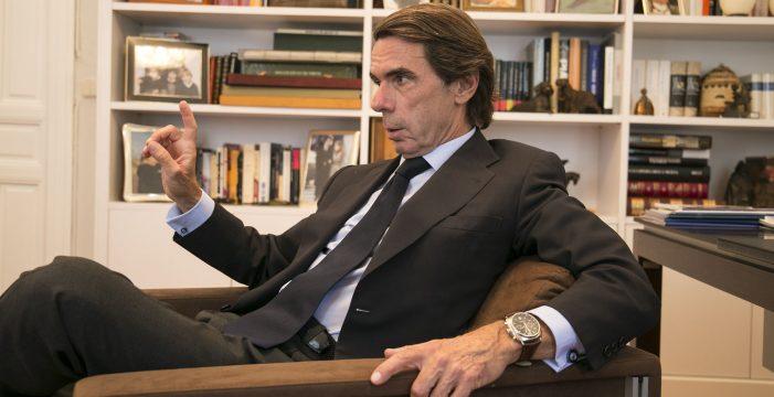 José María Aznar presentará su libro este viernes junto a José Manuel Soria en Las Palmas de Gran Canaria
