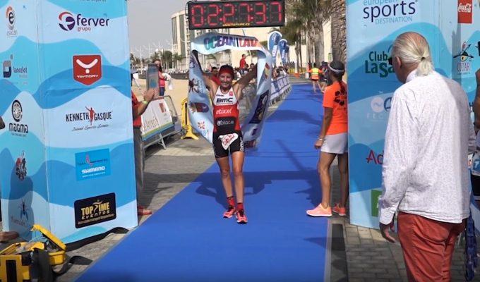 Una de las últimas citas del año para el triatlón canario se celebra en Lanzarote