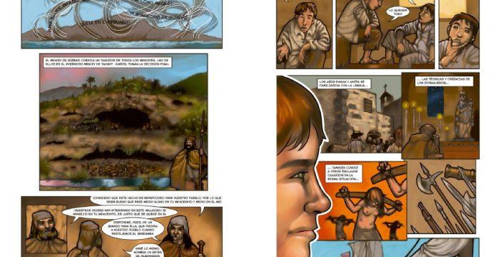 Condenan al ilustrador Luis Eduardo Fierro a no interferir más en el Comic Guanche