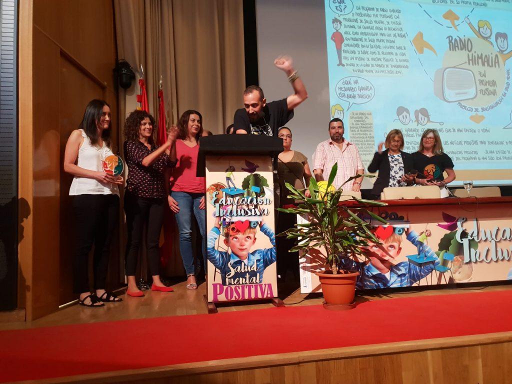 La Confederación Salud Mental España reconoce el programa Radio Himalia, una producción de Plató del Atlántico. | DA