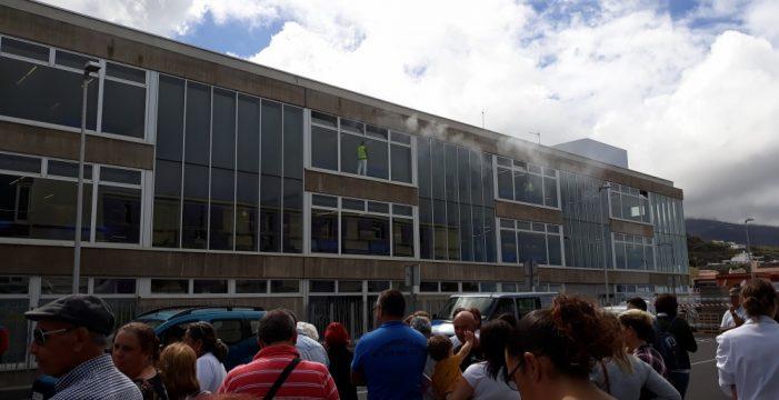 Realizan un simulacro de incendio en el área de Consultas Externas del Hospital del Norte