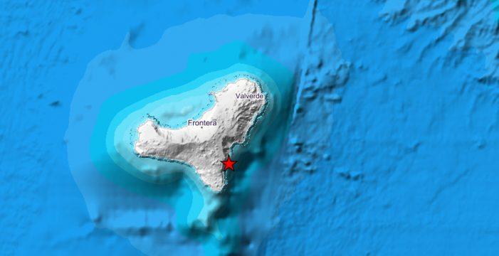 El IGN registra un terremoto de 3,6 grados en El Hierro