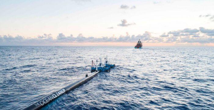 The Ocean Clean Up, la idea genial de un joven de 24 años que acabará con los plásticos en el mar