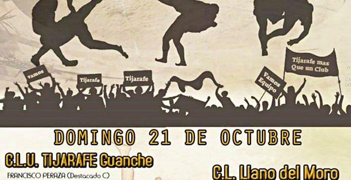 El Torneo Volquete enfrenta este domingo al Tijarafe Guanche y al Llano del Moro