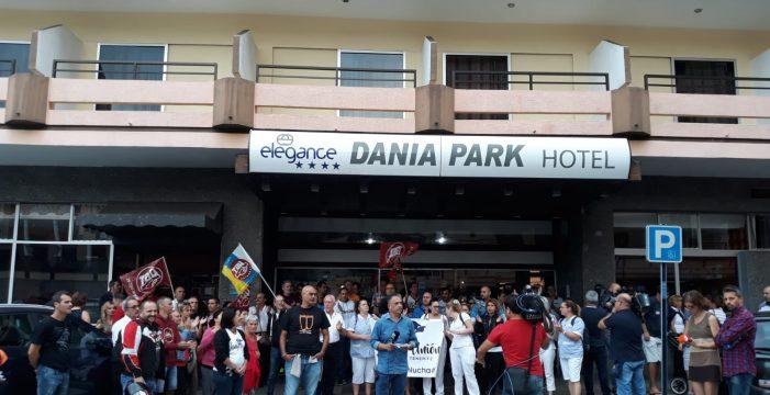 El hotel Dania, del Puerto de la Cruz, cierra sus puertas y deja a 54 trabajadores en la calle