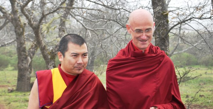 Adeje acoge desde hace seis años el primer centro budista en Tenerife