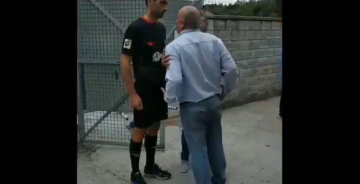 """Un padre amenaza de muerte a un árbitro en pleno partido: """"Te voy a arrancar la cabeza"""""""