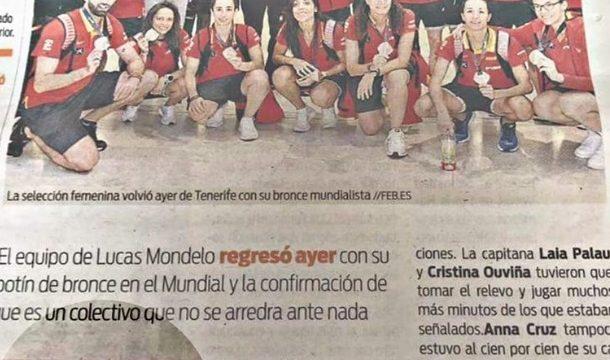 Esto sobre el Mundial de Baloncesto Femenino del diario Sport está indignando a los canarios