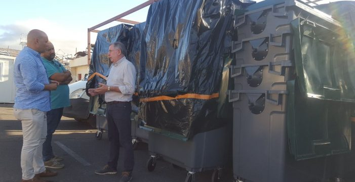 Candelaria instalará cámaras para vigilar 200 nuevos contenedores