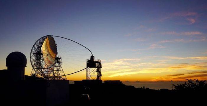 El prototipo de la Red Cherenkov de La Palma, protagonista de la imagen del día de la NASA