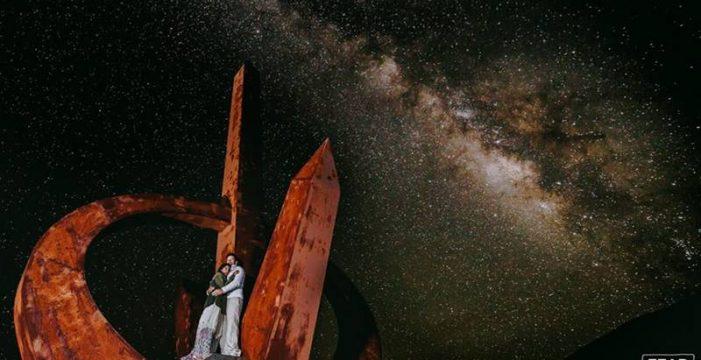 El palmero Pedro Álvarez convierte la fotografía de boda en arte