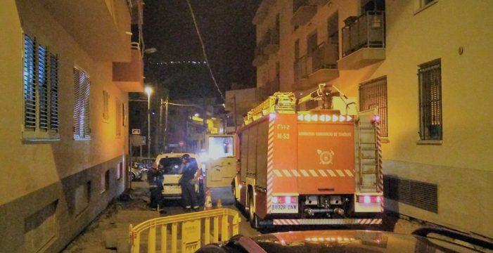 Extinguen un incendio en una vivienda en Valle San Lorenzo