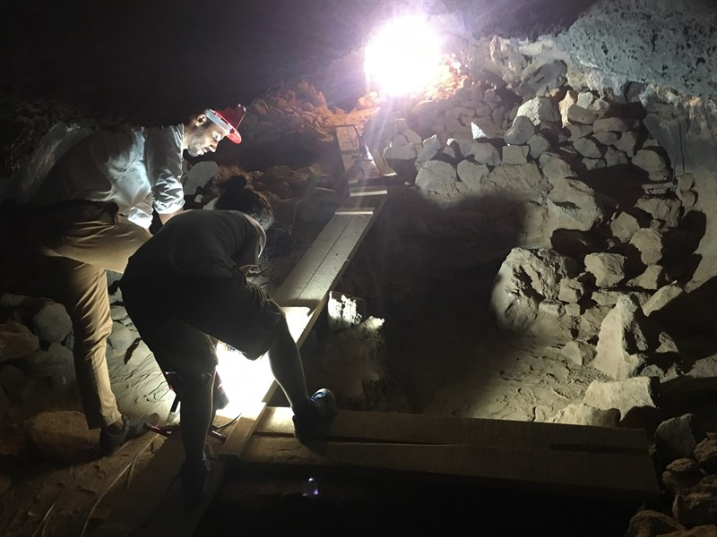 Posible yacimiento arqueológico de referencia a nivel de Canarias. | EUROPA PRESS