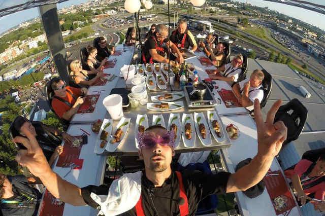 Gastronomía de altura con chefs Michelin en Bahía del Duque