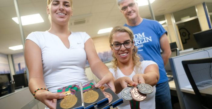Estrellas paralímpicas buscan patrocinador