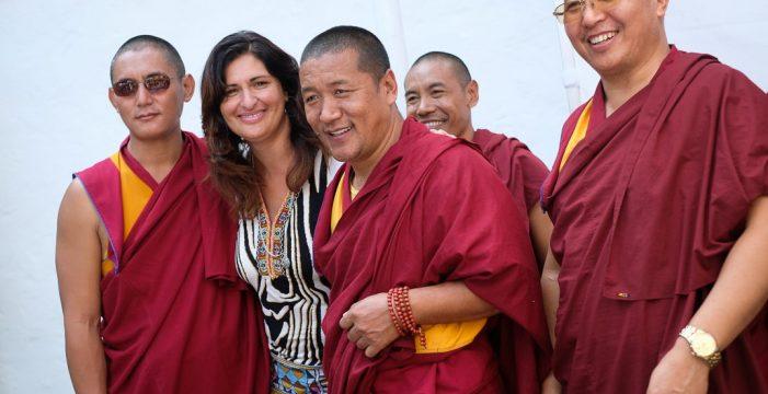 Cinco monjes tibetanos inician en Güímar una gira benéfica por la Isla